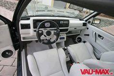 Very nice Mk2 Golf interior