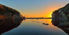 """""""Sunset at Salal Cove, Sea Ranch"""" by Phil Wendt. Sea Ranch, Around The Worlds, Sunset, Gallery, Amazing, Water, Outdoor, Gripe Water, Outdoors"""