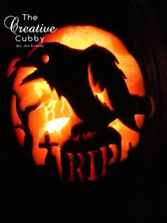 Evans Pumpkin Carving 2013 - The Creative Cubby