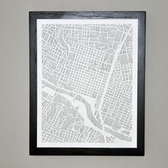 Austin City Print 11x14, $28, now featured on Fab.
