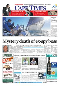 News making headlines: Mystery death of ex spy boss