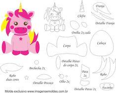 Résultats de recherche d'images pour « unicornio em feltro »