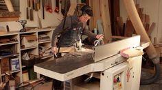Jared Rusten working - Handcrafted Furniture