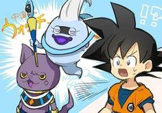Dbz, Youkai Watch, Nickelodeon, Pink Clouds, Anime Crossover, Son Goku, Digimon, Fnaf, Dragon Ball Z