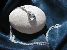 Lucky horseshoe necklace ~ A gift with meaning for everyone because the horseshoe is recognised worldwide as a symbol of luck and good fortune. Inspire your friends or loved-ones to be lucky and successful by sending them this horseshoe necklace as a meaningful present (ideal for any event or occasion where perhaps a bit more luck may be needed . . Exams, Driving test, Interview, Competition . . and so on)