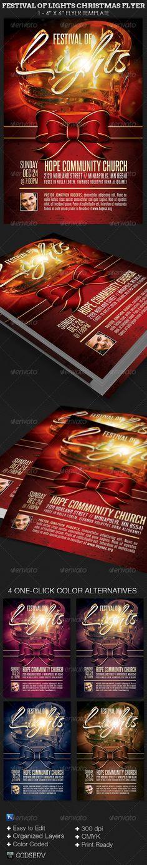 Christmas Concert Flyer Template  Concert Flyer Flyer Template