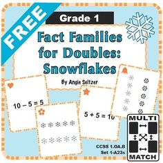 Have you succeeded in engaging your math-challenged students? Try easy-to-use Multi-Match game cards. Kids love 'em! Also download the FREE Games Guide