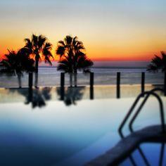 Sunset - Gran Canaria - Riu Vistamar - infinity pool - Spain - Summer holidays