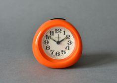 Vintage alarm clock alarm clock East German ruhle by MightyVintage, €65.00