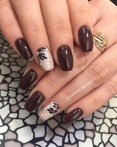 Elegant Nail Designs, Beautiful Nail Designs, Nail Art Designs, Nail Manicure, Gel Nails, Acrylic Nails, Cute Nails For Fall, Pointed Nails, Thanksgiving Nails