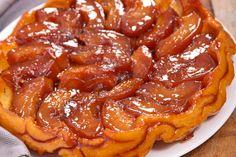 Ropogós tésztájú, francia almás pite - A gyümölcs szinte krémesre sül