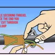 Wrapping Your Rod Guides Picture Illustration