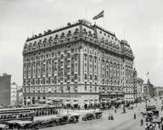 Hotel Astor, Times Square, NY - 1908