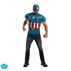 Disfraz de Capitán América Soldado de Invierno para hombre