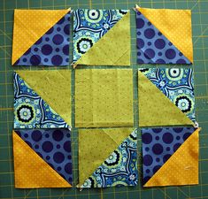 Friendship Hexagon Mini and Tutorial on Don't Call Me Betsy at http://www.dontcallmebetsy.com/2012/02/modern-mini-quilt-blog-hop-friendship.html