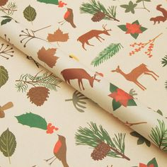 Woodland Wrapping Paper now featured on Fab.