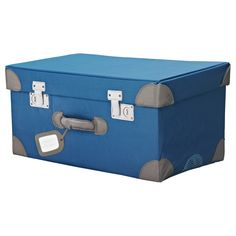 PYSSLINGAR Trunk for toys - IKEA  Saw this last time I was in the store. So fun and only $20!