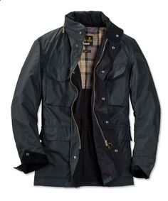 Just found this Lightweight Wax Cotton Army Jacket - Barbour® Tailored Sapper Jacket -- Orvis on Orvis.com!