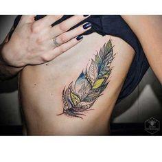 20 tatuajes de plumas
