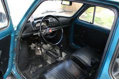 Fiat 500 Oldtimer Interior