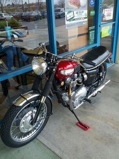 Original 1968 Triumph Bonneville