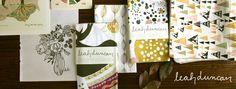 Studio SloMo & Leah Duncan - Recipe cards and tea towel set
