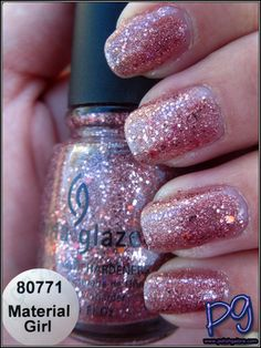 China Glaze: Material Girl