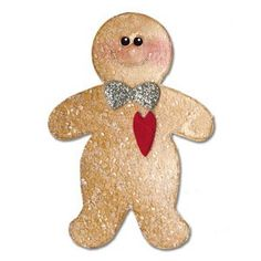 Sizzix Originals Die - Gingerbread Man #3