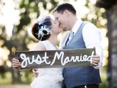 Just Married! By Jen Patton Photography. Check out more amazing wedding photos here: http://snapknot.com/wedding-photographer/4714-Jen-Patton-Photography