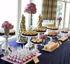 wedding desert table   Cocoa & Fig » Independent Wedding Association