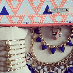 We're obsessed over our Spring Collection colors & patterns <3! Shop Stella & Dot at www.stelladot.com/christinajpade