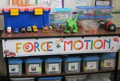 Science area- force and motion unit