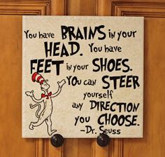 Teacher Appreciation with Dr. Seuss- Oh, The Places You'll Go.