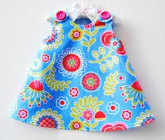 Hey, I found this really awesome Etsy listing at https://www.etsy.com/listing/99451006/bouquet-de-fleurs-blue-infant-toddler
