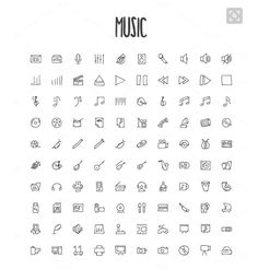 Music Symbols Tattoo 51 Ideas - Music symbols Tattoo 51 ideas of the legs - Music Symbol Tattoo, Music Tattoos, Body Art Tattoos, Small Tattoos, Music Related Tattoos, Drawing Tattoos, Tattoo Symbols, Tatoos, Kritzelei Tattoo