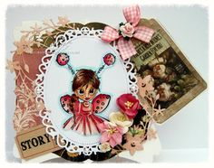 Dream Laine: Little Lady Bug for Paper Crafting Journey Challenge - Punches or Die Cuts