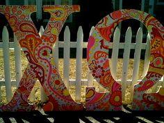 <3 Chi Omega letters.