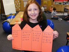 Fact Family-going to use it for multiplication families when I teach it next year Math Resources, Math Activities, Math School, Fact Families, Math Addition, Second Grade Math, Homeschool Math, Math Facts, Math Classroom