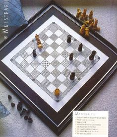 Blackwork Chessboard1