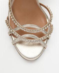 Ann Taylor - $198 - Strappy Crystal Sandal
