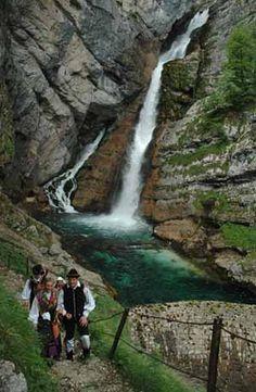 Savica Waterfall - Waterfalls - Slovenia - Official Travel Guide -