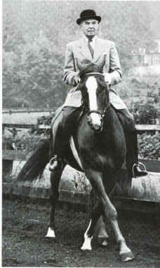 This is Colonel Alois Podhajsky, Director of the Spanish Riding School in Vienna from 1939 through 1961. With the help of General George Patton and the US Army, he saved the world's oldest classical riding school and the fabulous Lipizzaner horses from destruction in WWII. Besides that noteworthy accomplishment he was one of greatest horseman of all time. I would have loved to have met him, and especially to have seen him ride.