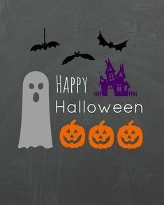 Happy Halloween Spooks printable