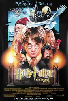 Harry Potter Sorcerer/'s Stone Movie Poster Canvas Premium Quality A0-A4