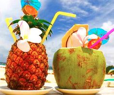 You can't have Paradise without tropical drinks!