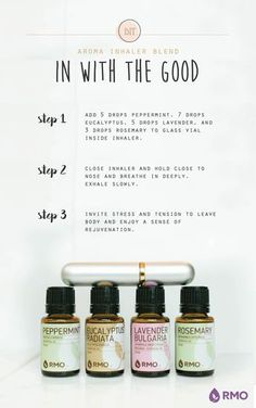 This week's Essential Oil DIY helps you breathe in the good and exhale the bad! A refreshing mix of Peppermint, Eucalyptus, Lavender, and Rosemary, this respiratory blend is the pick-me-up you've been seeking! Check out our RMO blog to see more recipes and remember to get your 10% off that weeks Essential Wednesday essential oils!