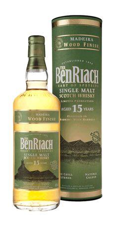 BenRiach 15YO Madeira Finish. Great taste!