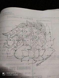 Rangoli Designs Peacock, Indian Rangoli Designs, Rangoli Designs Latest, Simple Rangoli Designs Images, Rangoli Designs With Dots, Rangoli With Dots, Beautiful Rangoli Designs, Free Hand Rangoli Design, Small Rangoli Design