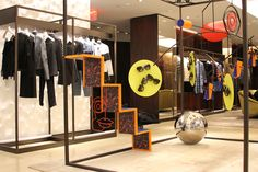 Fendi retail display, fabricated by Creative NYC.