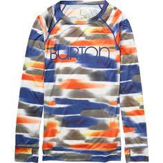 Want Snowboarding Base Layers Burton Lightweight Crew Shirt - Women's from evo.com